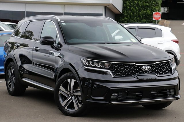 New Kia Sorento MQ4 MY21 Sport+ AWD Mount Gravatt, 2020 Kia Sorento MQ4 MY21 Sport+ AWD Aurora Black 8 Speed Sports Automatic Dual Clutch Wagon