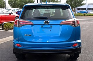 2017 Toyota RAV4 Blue Wagon