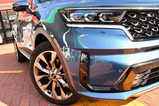 2020 Kia Sorento MQ4 MY21 GT-Line Mineral Blue 8 Speed Sports Automatic Wagon.
