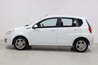 2010 Holden Barina TK MY10 White 4 Speed Automatic Hatchback