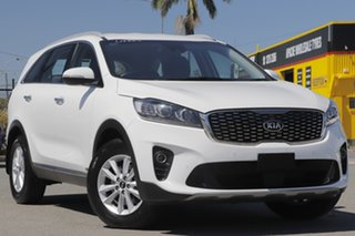 2018 Kia Sorento UM MY18 Si AWD Clear White 8 Speed Sports Automatic Wagon.