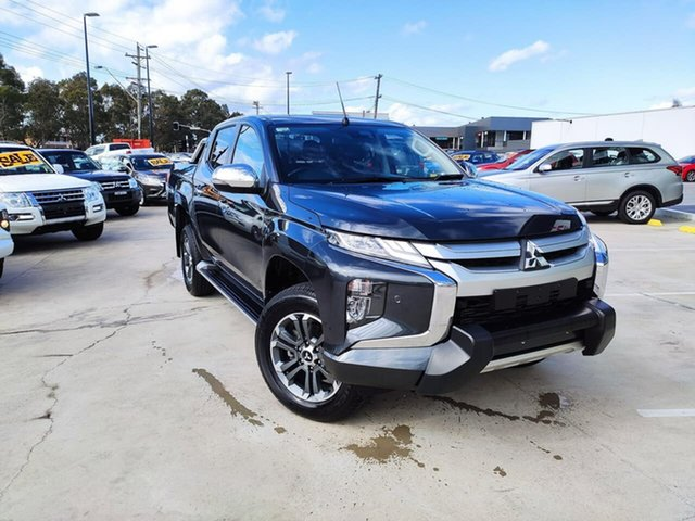 Used Mitsubishi Triton MR MY19 GLS Double Cab Premium Liverpool, 2018 Mitsubishi Triton MR MY19 GLS Double Cab Premium Grey 6 Speed Sports Automatic Utility