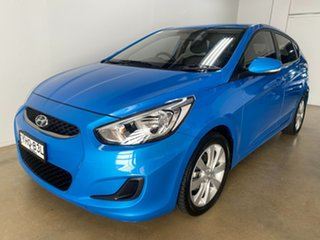 2017 Hyundai Accent RB5 Sport Blue 6 Speed Automatic Hatchback