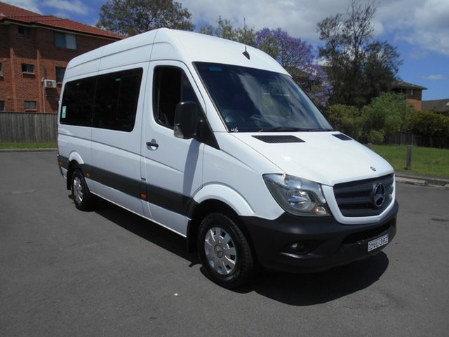 Used Mercedes-Benz Sprinter 906 MY14 Transfer Bankstown, 2015 Mercedes-Benz Sprinter 906 MY14 Transfer White 7 Speed Automatic Bus