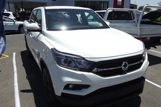 2020 Ssangyong Musso Q201 MY20.5 Ultimate Crew Cab XLV White 6 Speed Sports Automatic Utility.