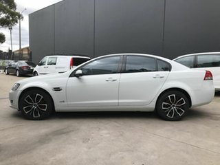 2012 Holden Commodore VE II MY12 Omega (LPG) White 6 Speed Automatic Sedan