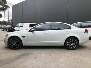 2012 Holden Commodore VE II MY12 Omega (LPG) White 6 Speed Automatic Sedan