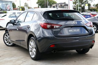 2016 Mazda 3 BM MY15 SP25 Grey 6 Speed Automatic Hatchback.