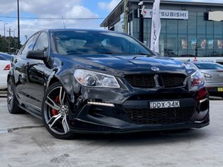 2016 Holden Special Vehicles ClubSport Gen-F2 MY16 R8 LSA Black 6 Speed Manual Sedan.