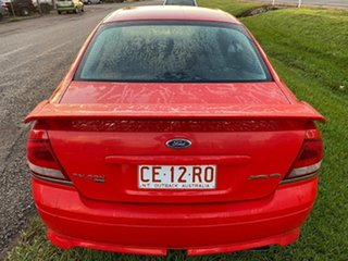 2005 Ford Falcon BA Mk II XR6 Red 4 Speed Sports Automatic Sedan