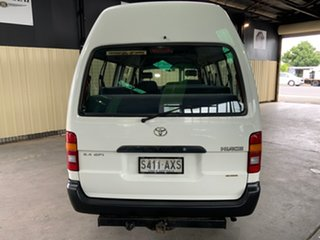 2003 Toyota HiAce RZH125R Commuter Super LWB White 4 Speed Automatic Bus