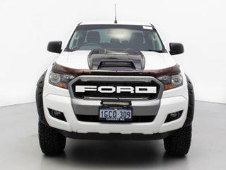 2016 Ford Ranger PX MkII MY17 XLS 3.2 (4x4) White 6 Speed Automatic Double Cab Pick Up.