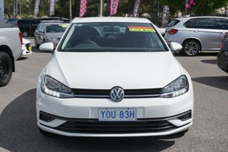 2017 Volkswagen Golf 7.5 MY17 110TSI DSG Trendline Pure White 7 Speed Sports Automatic Dual Clutch.