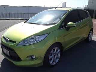 2011 Ford Fiesta WS Zetec 5 Speed Manual Hatchback.