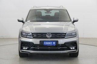 2019 Volkswagen Tiguan 5N MY19.5 132TSI DSG 4MOTION R-Line Edition Tungsten Silver 7 Speed.