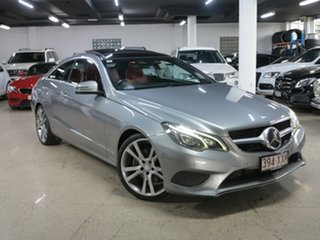 2013 Mercedes-Benz E-Class C207 MY13 E250 CDI 7G-Tronic + Silver 7 Speed Sports Automatic Coupe.