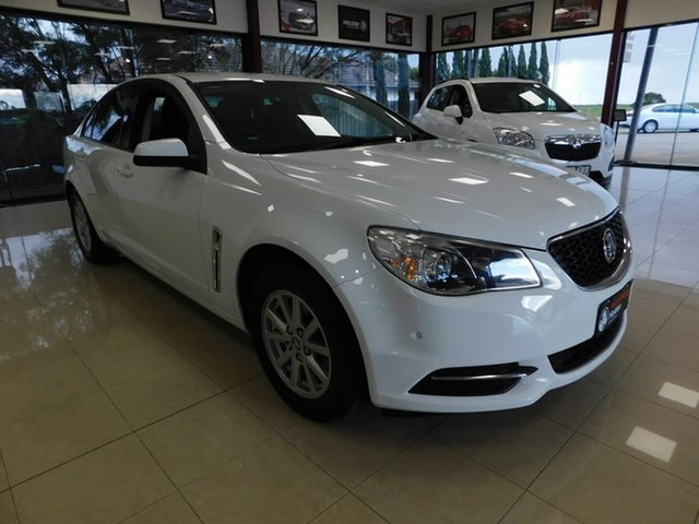 Used Holden Commodore VF II MY17 Evoke Wonthaggi, 2017 Holden Commodore VF II MY17 Evoke White 6 Speed Sports Automatic Sedan