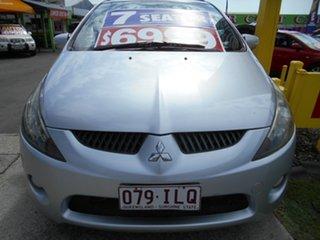 2004 Mitsubishi Grandis BA Silver 4 Speed Automatic Wagon.