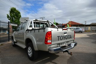 2005 Toyota Hilux GGN25R SR5 (4x4) Silver 5 Speed Manual Dual Cab Pick-up.