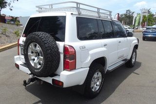 2011 Nissan Patrol GU 7 MY10 ST White 5 Speed Manual Wagon