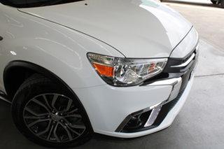 2017 Mitsubishi ASX XC MY17 LS White 6 Speed Sports Automatic Wagon.