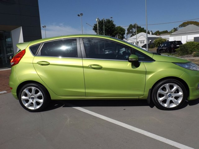 Used Ford Fiesta WS Zetec Toowoomba, 2011 Ford Fiesta WS Zetec 5 Speed Manual Hatchback