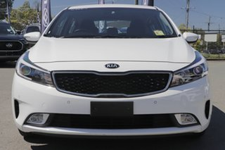 2016 Kia Cerato YD MY17 S Premium Clear White 6 Speed Sports Automatic Hatchback