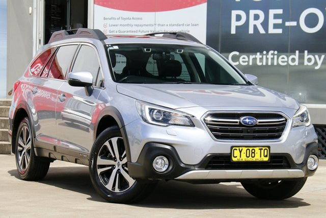 Used Subaru Outback MY18 2.5I Premium AWD Guildford, 2017 Subaru Outback MY18 2.5I Premium AWD Ice Silver Continuous Variable Wagon