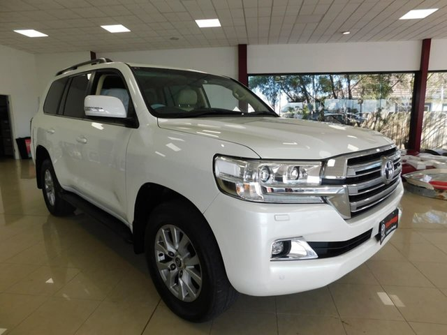 Used Toyota Landcruiser VDJ200R VX Wonthaggi, 2016 Toyota Landcruiser VDJ200R VX White 6 Speed Sports Automatic Wagon