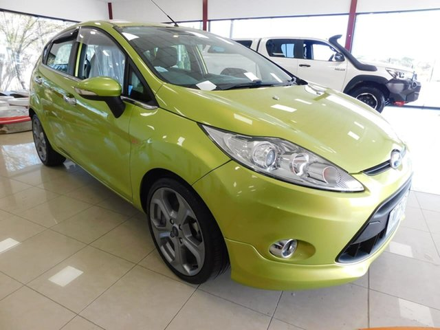 Used Ford Fiesta WS Zetec Wonthaggi, 2009 Ford Fiesta WS Zetec Green 5 Speed Manual Hatchback