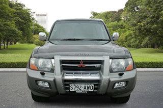 2001 Mitsubishi Pajero NM Exceed Black 5 Speed Sports Automatic Wagon.