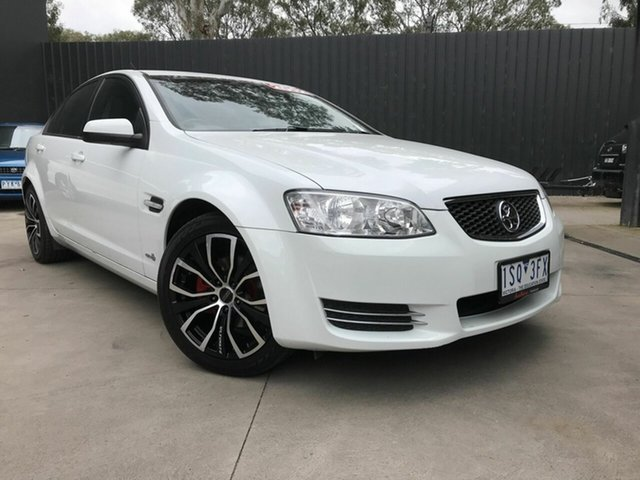 Used Holden Commodore VE II MY12 Omega (LPG) Fawkner, 2012 Holden Commodore VE II MY12 Omega (LPG) White 6 Speed Automatic Sedan