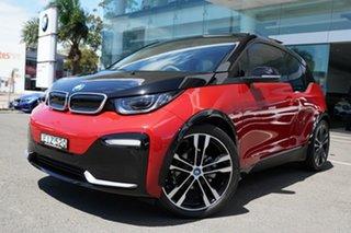 2019 BMW i3 I01 S 120AH Melbourne Red/ Frozen Grey Hig 1 Speed Automatic Hatchback.