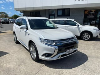 2018 Mitsubishi Outlander ZL MY19 PHEV AWD ES ADAS White 1 Speed Automatic Wagon Hybrid.