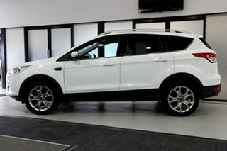 2014 Ford Kuga TF Trend (AWD) Frozen White 6 Speed Automatic Wagon