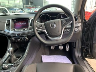 2016 Holden Special Vehicles ClubSport Gen-F2 MY16 R8 LSA Black 6 Speed Manual Sedan