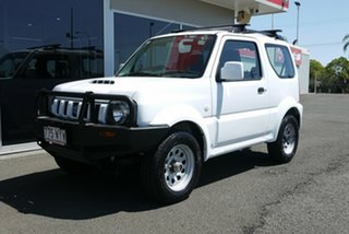 2013 Suzuki Jimny SN413 T6 Sierra White 5 Speed Manual Hardtop