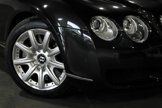 2007 Bentley Continental 3W GTC Black 6 Speed Sports Automatic Convertible.