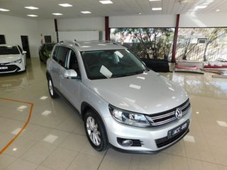 2014 Volkswagen Tiguan 5N 130TDI Silver Sports Automatic Dual Clutch.