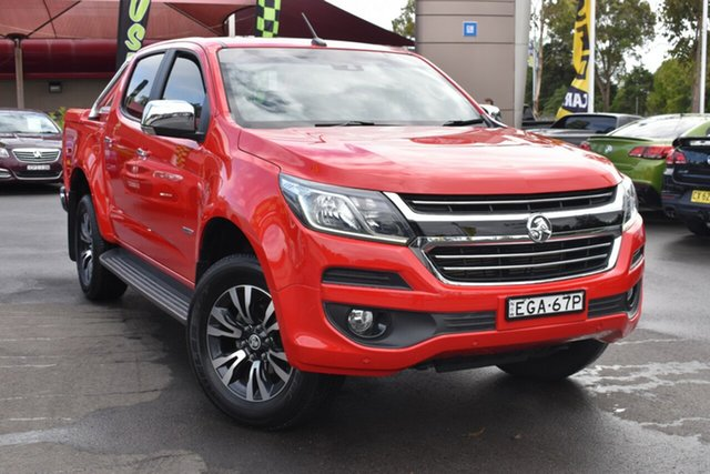 Used Holden Colorado RG MY16 LTZ Crew Cab 4x2 Tuggerah, 2016 Holden Colorado RG MY16 LTZ Crew Cab 4x2 Red 6 Speed Sports Automatic Utility