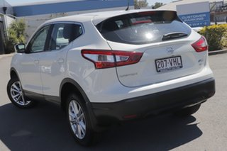 2014 Nissan Qashqai J11 ST Ivory Pearl 1 Speed Constant Variable Wagon.