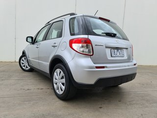 2014 Suzuki SX4 GYA MY13 Crossover Navigator Silver 6 Speed Constant Variable Hatchback