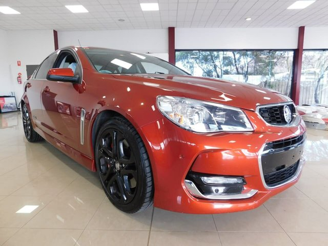 Used Holden Commodore VF II MY16 SS V Redline Wonthaggi, 2016 Holden Commodore VF II MY16 SS V Redline Red 6 Speed Sports Automatic Sedan