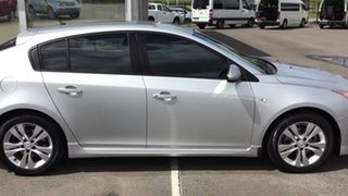 2013 Holden Cruze JH Series II MY14 SRi Silver 6 Speed Sports Automatic Hatchback
