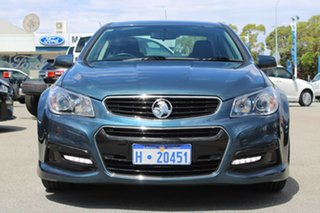2013 Holden Commodore VF MY14 SV6 Blue 6 Speed Sports Automatic Sedan.