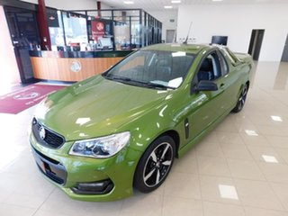 2016 Holden Ute VF II MY16 SV6 Ute Green 6 Speed Sports Automatic Utility