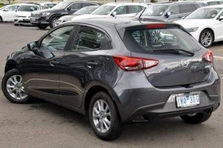 2018 Mazda 2 DJ2HA6 Maxx SKYACTIV-MT Grey 6 Speed Manual Hatchback.
