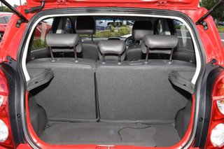 2014 Holden Barina Spark MJ MY15 CD Red 4 Speed Automatic Hatchback
