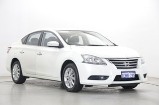 2014 Nissan Pulsar B17 ST-L Pearl White 1 Speed Constant Variable Sedan