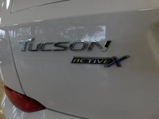 2017 Hyundai Tucson TL Active X White Sports Automatic